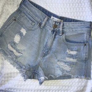 Bullhead Denim Co High-Rise Shorts